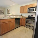 Full Kitchens with Stainless Appliances and granite