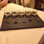 Selezione di cacao e rum!