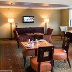 breakfast hospitality area