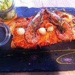 Tartine fruits de mer
