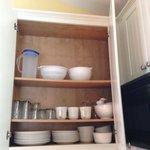 A full cupboard