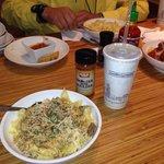 My Beef Stroganoff with Garlic Bread - from Noodles & Company Restaurant of Elk Grove, CA