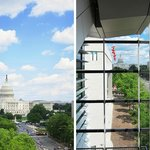 Beautiful views of the Capitol