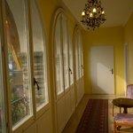 Hallway in our villa