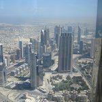 "Towards the Dusit Thani from ""At the Top"" of Burj Khalifa"