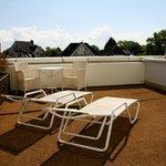 vores dejlige terrasse