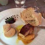 Foie gras 2 ways