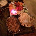 ��������excelente comida hindú