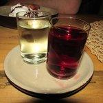 cherry and grass vodka