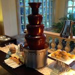 Tower-o-chocolate for afternoon tea