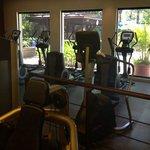 Cardio area of gym
