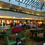 lobby, reception, bar