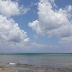 Nubes sobre la playa