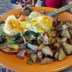 Eggs Benedict - Florantine style