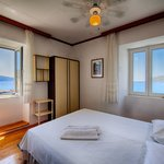 the bedroom with he view