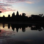 Sunset at Ankgor Wat