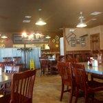 Inside Elijah's Cafe