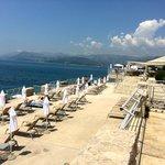 Beach access and beach chairs