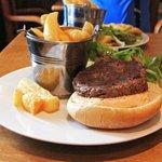 Burger at Londonderry Arms, Carnlough