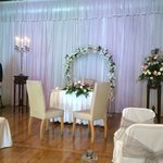 The wedding room.