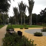 Parque de la 93 despues de las reformas en mayo 2014
