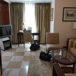 Art Deco suite living area