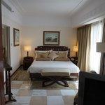 Art Deco suite bedroom