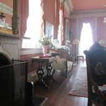 Historic front parlor, beautiful.
