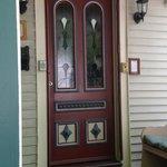 Front door of Artful Lodger