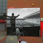 Statue of Bill Shankly