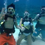 Discover scuba (uncertified first dive)