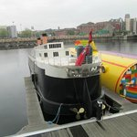 The Half Titanic Mini Cruise Ship