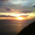 Sunset at Malimbu Hill