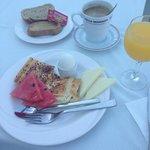 Breakfast - same everyday - it's just ok