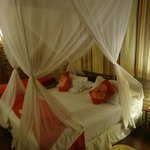 cama de casal com dossel