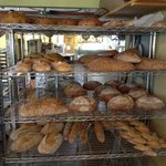 Some of the breads available.