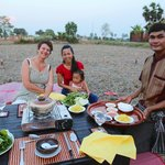 BBQ in the rice paddy