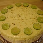 Our delicious homemade cheesecakes, this beauty is key lime..Sooo good!