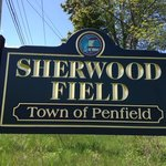 Sherwood Field Park - sign