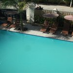 Junior suite room type with swimming pool
