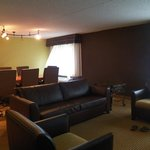 Living Area/Conference Room of a Three Room Suite