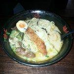 I have transfered some tonkatsu to the pork rib ramen