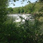 Lanesboro Dam - View from the backyard