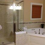 Regal Vistas -Master bathroom - shower and jacuzzi