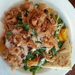 Shanghai Salad w/grilled chicken substituting for fried strips
