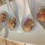 Dulce de Coco con vinagre balsámico de Corozo!! Love it!!!