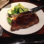 11oz Ribeye with mixed Vegetables so Awesome!!