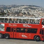 Bus 99- Panoramic tour of the City of Jerusalem-from hass promanade