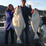 My halibut was huge!