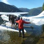 Landing at Dusky Sound